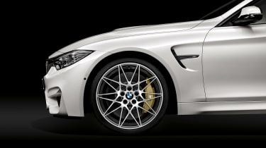 BMW M4 Competition Pack side
