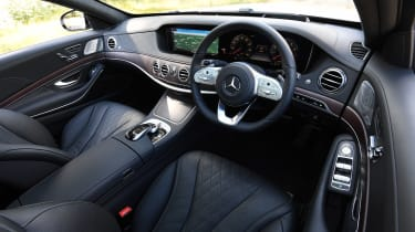 Mercedes S-Class - cabin