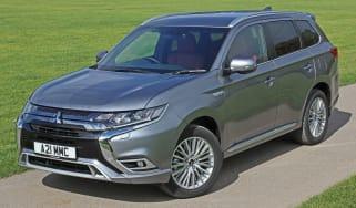 New Mitsubishi Outlander PHEV front