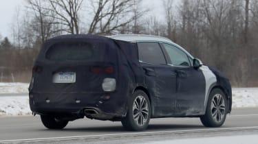 2019 Hyundai Santa Fe - rear