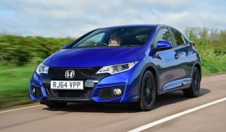 Honda Civic Sport - front tracking