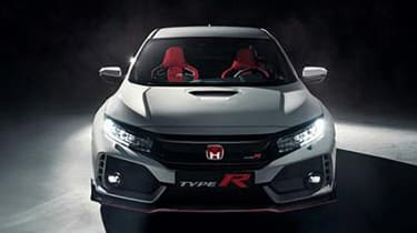 Honda Civic Type-R front leaked pic