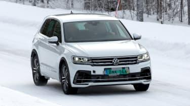Volkswagen Tiguan R - spyshot 9