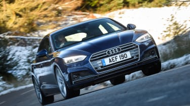 Audi A5 Sportback - front cornering