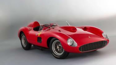 1957 Ferrari 335 front three quarter- most expensive cars