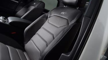 Volkswagen Touareg - front seat