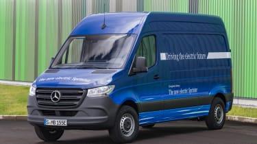 Mercedes Sprinter 2018 - electric van