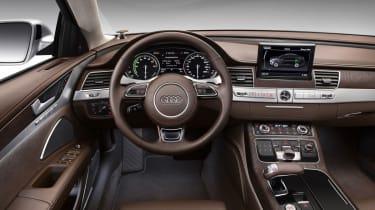Audi A8 Hybrid interior
