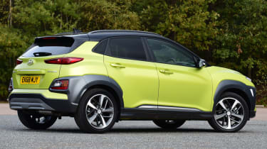 hyundai kona static rear