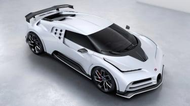 Bugatti Centodieci - above