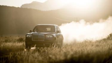 Rolls-Royce Cullinan - panning