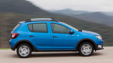 Dacia Sandero Stepway panning