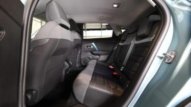Citroen e-C4 - rear seats