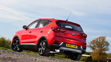 MG ZS - rear static