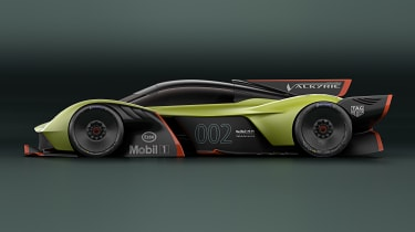 Aston Martin Valkyrie AMR Pro - side