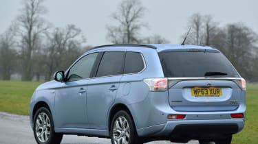 Mitsubishi Outlander PHEV 2014 rear