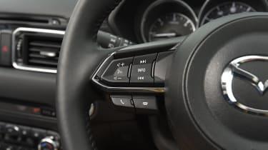Mazda CX-5 SUV - steering wheel