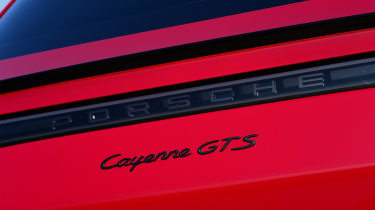 Porsche Cayenne Coupe GTS - badge