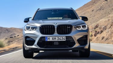 BMW X3 M Competition - full front