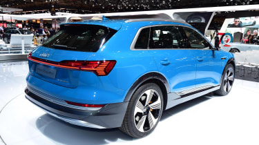 Audi e-tron - Paris rear