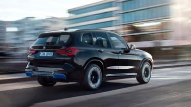 New BMW iX3 2021 facelift rear