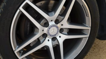 Used Mercedes E-Class - wheel