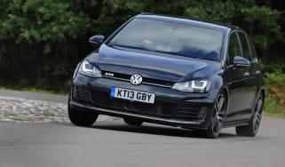 Volkswagen Golf GTD front cornering