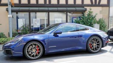 Next generation Porsche 911 parked static