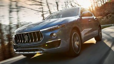 Maserati Levante Hybrid - front action