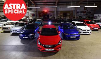 Magnificent Seven: Vauxhall Astra group header WM