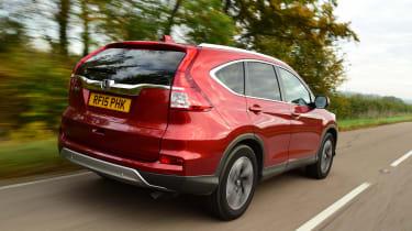 Honda CR-V long-termer rear tracking