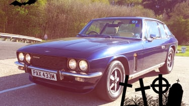 scary cars jensen interceptor