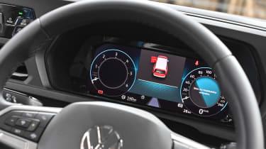 2020 Volkswagen Caddy - dials
