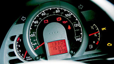 Volkswagen Fox speedo
