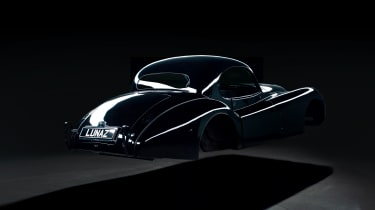 Jaguar XK120 EV - rear