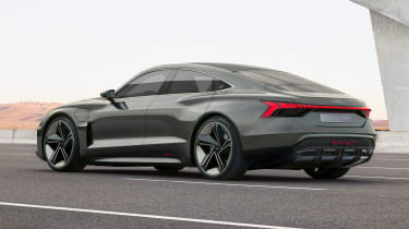 Audi e-tron GT concept - side/rear