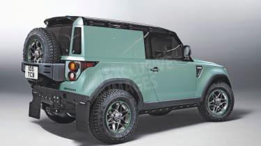 Land Rover Defender 3-door