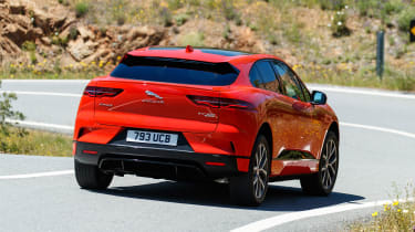 Jaguar I-Pace - rear cornering