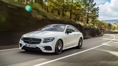 Mercedes E-Class Coupe - AMG Line front tracking