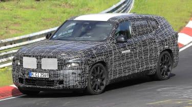 BMW X8 - spyshot 6