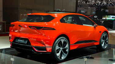 Jaguar I-Pace Geneva show - rear