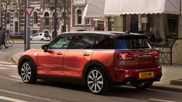 MINI Clubman - rear red static
