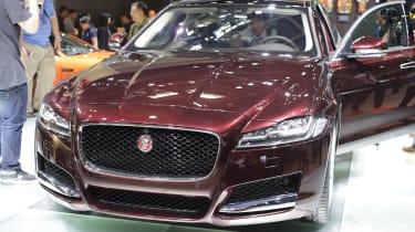 Jaguar XF L - Behind Beijing