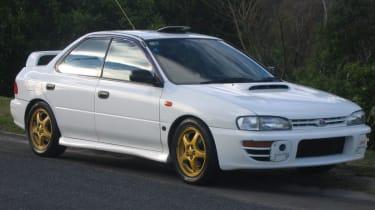 First generation Subaru Impreza WRX STi