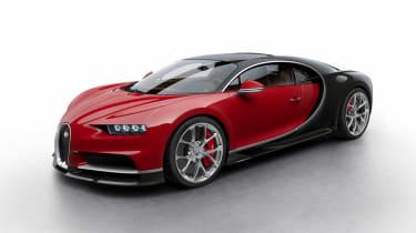 Bugatti Chiron - red/black