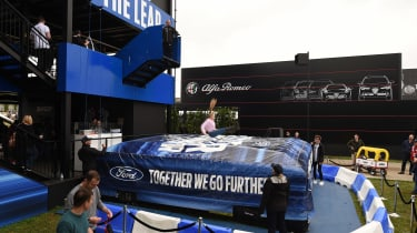 Ford Goodwood stand - jump