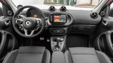Smart ForTwo and ForFour Brabus interior