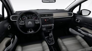 Citroen C3 2016 - interior grey
