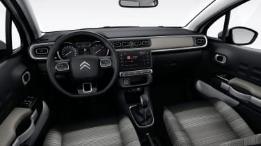 Citroen C3 2016 - interior grey