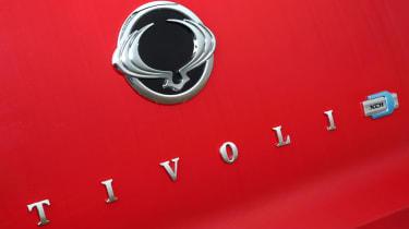 SsangYong Tivoli ELX diesel badge